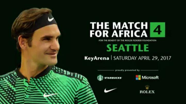 Bill Gates 'disturba' Federer, video-lancio di Match for Africa